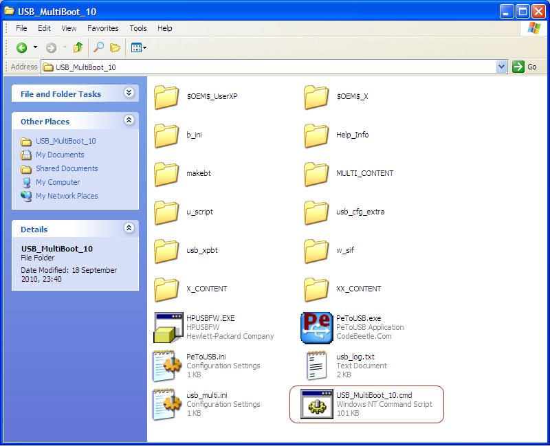 Install Windows Xp Dari Flashdisk Usb Multi Boot Download