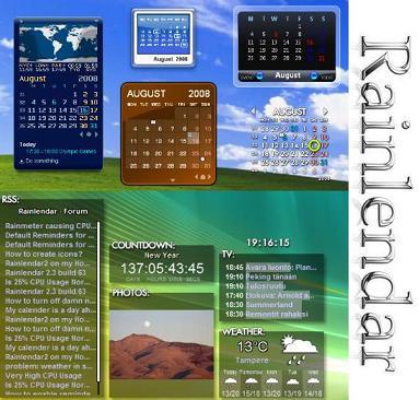 Aplikasi Rainlendar