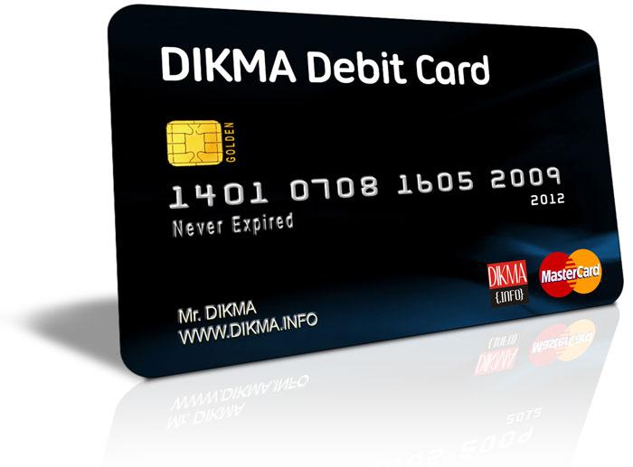 Dikma Debit Card