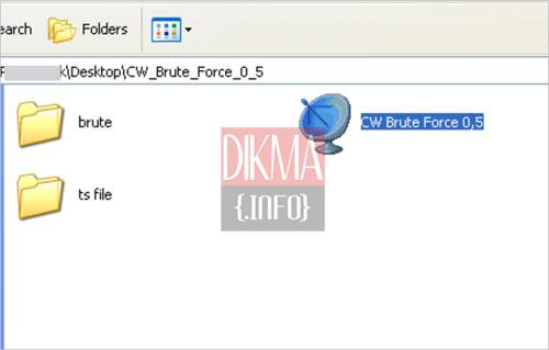 Klik tombol kanan atas untuk memilih file .ts yang sudah ter record ...
